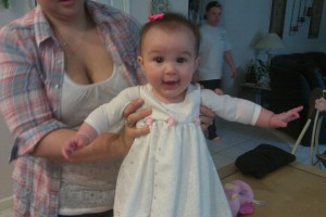 Gianna's first Easter